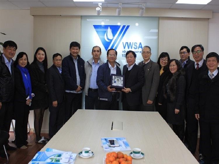 Hội Cấp thoát nước Việt Nam và Tổng Công ty Cấp nước Sài gòn sẽ triển khai nhiều hợp tác trong thời gian tới