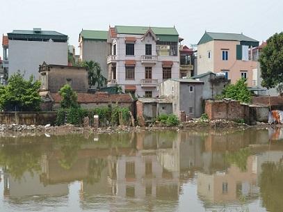 1272/Hà Nội: Đê sông Nhuệ có nguy cơ sạt lở