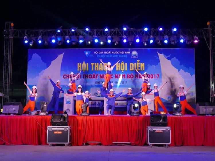 1027/Khai mạc Hội diễn – Hội thao Chi hội Thoát nước Nam bộ 2017