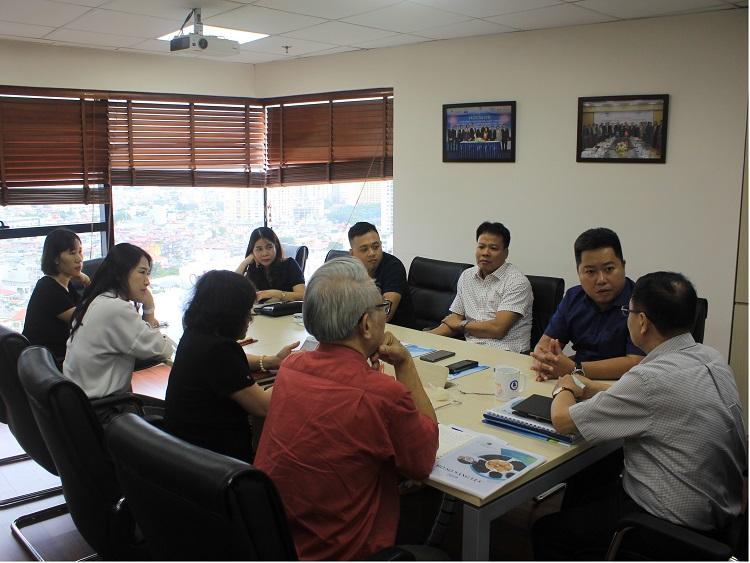VWSA làm việc với Đại diện lãnh đạo Công ty CP Than hoạt tính Toàn Cầu