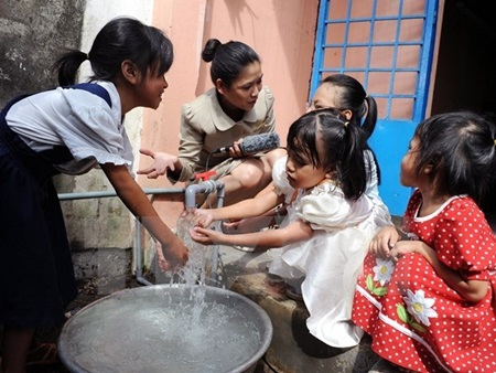 420/Hau Giang plans clean water funds