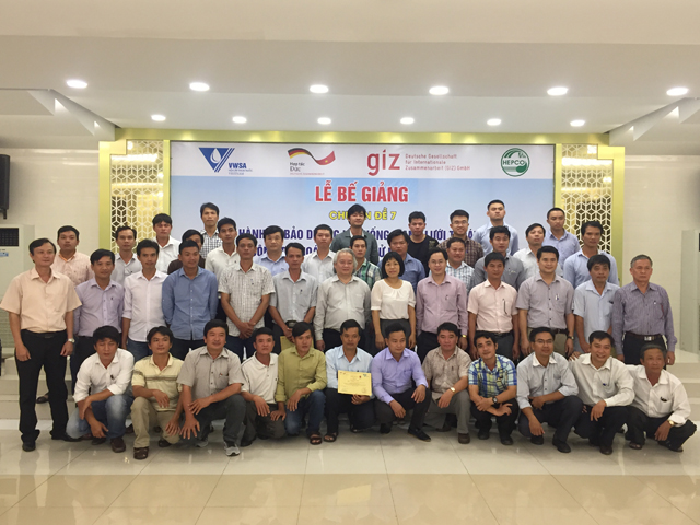 429/Training Course on Operation and Maintenance of the Sewerage Network in Hue City