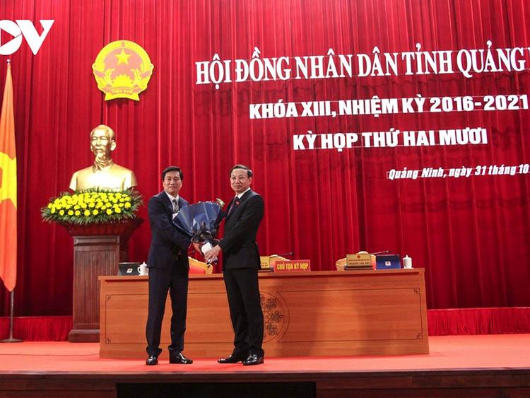 Thứ trưởng Bộ Xây dựng, Phó Chủ tịch Hội Cấp thoát nước Việt Nam được bầu làm Chủ tịch tỉnh Quảng Ninh