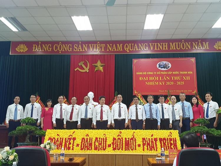 Công ty CP Cấp nước Thanh Hóa tổ chức Đại hội lần thứ XII