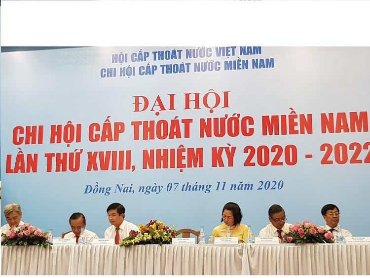 2208/Đại hội Chi hội Cấp thoát nước miền Nam lần thứ XVIII, Nhiệm kỳ 2020 - 2022