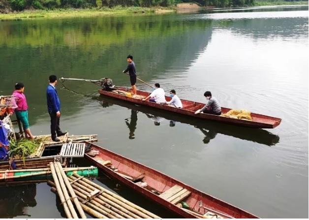 1871/Tìm nguyên nhân thủy sản trên sông Mã bị chết