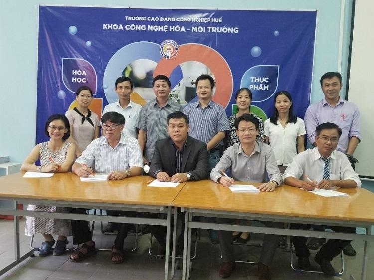 Thành lập Hội đồng tư vấn nghề Kỹ thuật TN&XLNT tại Trường CĐ Công nghiệp Huế