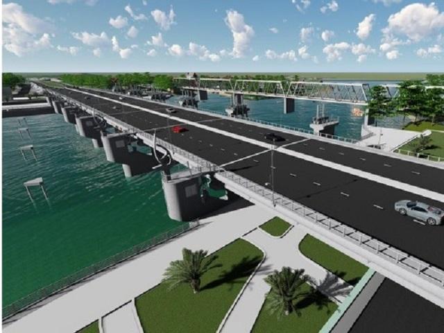 2172/Đập ngăn mặn 759 tỷ trên sông Cái sẽ khởi công cuối tháng 9/2020
