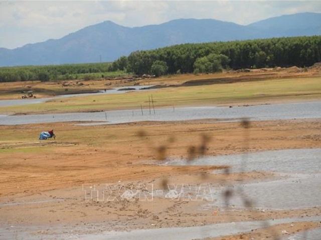 1974/Nhiều hồ chứa ở Bà Rịa-Vũng Tàu đang ở mực nước chết