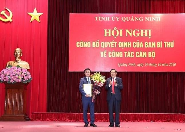 2204/Thứ trưởng Bộ Xây dựng giữ chức Phó Bí thư Tỉnh uỷ Quảng Ninh