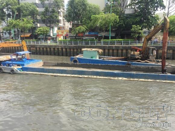 TPHCM nạo vét nhiều tuyến kênh để đảm bảo tiêu thoát nước