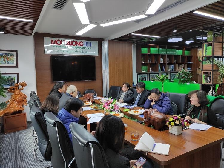 2252/Tạp chí Cấp thoát nước Việt Nam tổng kết hoạt động năm 2020
