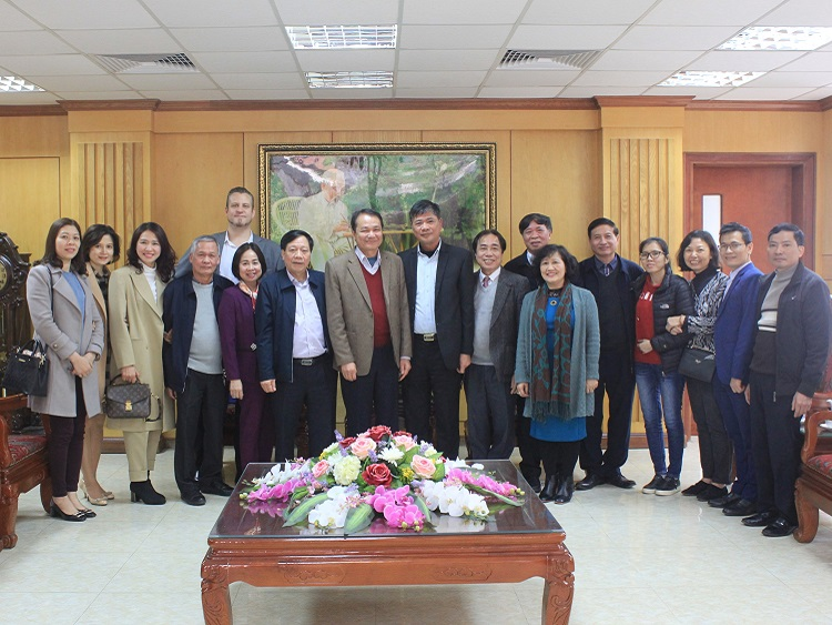 2254/Lãnh đạo Hội Cấp thoát nước Việt Nam thăm và làm việc với Công ty CP Cấp nước Phú Thọ