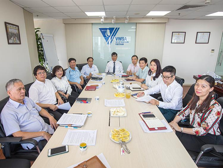 Hội Cấp thoát nước Việt Nam họp tổng kết kết quả hoạt động 6 tháng đầu năm 2021